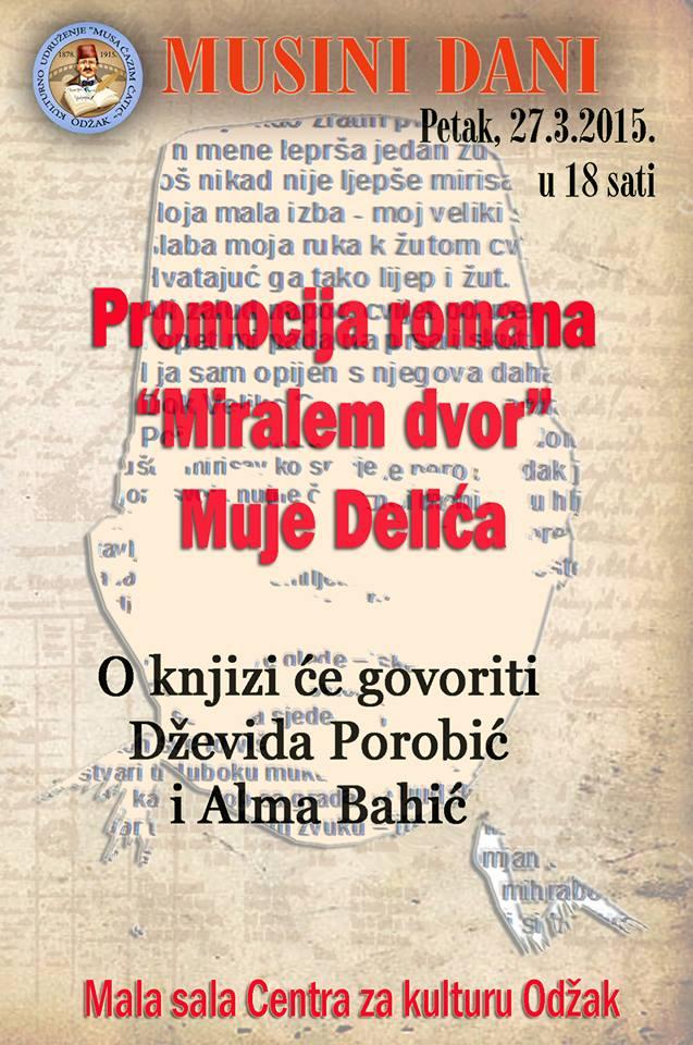 MUSA - plakat poziv na promociju